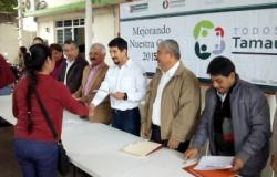 Arriban acciones de mejoramiento de vivienda a familias de Aldama