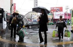 Frente frío provocará lluvias y baja temperatura al norte del país