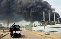 Explosión en planta de Pemex en Veracruz deja 30 heridos
