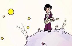 """""""El Principito"""" brindó un homenaje al cantante Prince"""