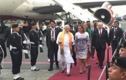 Llega a México Primer Ministro de India