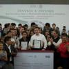 Invita Osorio Chong a jóvenes involucrarse en políticas públicas
