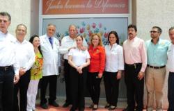 Entregan Egidio y María del Pilar obras de infraestructura de salud en la frontera