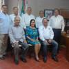 Aída Zulema sostiene reunión con ex dirigentes de la CNOP
