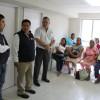 Supervisan condiciones de centros de salud en el Estado.