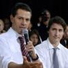 Peña Nieto y Justin Trudeau dialogan sobre comercio e inversiones