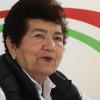 Magdalena Peraza gestiona ante PEMEX 700 toneladas  de asfalto para mejorar las vialidades de la ciudad