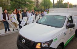 Oscar Almaraz Smer entregó 20 camionetas para las direcciones de Limpieza y Recuperación de Espacios Públicos