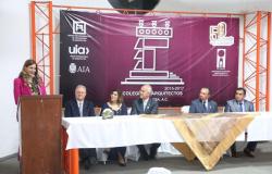 Participa alcaldesa Maki Ortiz en Toma de Protesta de Colegio de Arquitectos