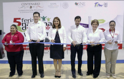 Más de 11 mil vacantes, 5ª Feria Nacional de Empleo establece récord en Tamaulipas