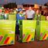 Entrega Oscar Almaraz 90 contenedores para trabajadores