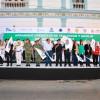 Banderazo de arranque del Operativo de Seguridad y Auxilio de Semana Mayor 2017
