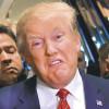 Trump, doblemente humillado en vísperas de sus primeros 100 días