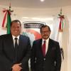 El Alcalde Óscar Almaraz Smer, realizo en la Ciudad de México una mesa de trabajo con el Secretario Ejecutivo del Sistema Nacional de Seguridad Pública