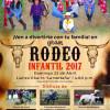 En Reynosa domingo 4:00 pm celebrarán con Rodeo Infantil a niños de casas hogar
