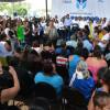 En Reynosa recibe Maki Ortiz a más de mil ciudadanos en  Audiencia Pública