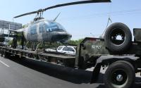 """""""Aterriza"""" Fuerza Aérea Mexicana en el Parque Fundidora con 5 naves para expo militar"""