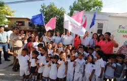 Banderazo de arranque de un nuevo esquema de apoyo para las familias victorenses: OAS