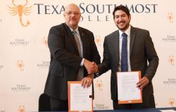 Firma Gobierno de Tamaulipas convenio con Texas Southmost College