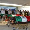 Despiden con honores a policías caídos en operativo de cedes victoria