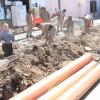 COMAPA Victoria continúa sustituyendo tuberías colapsadas por antigüedad.