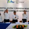 Instalan el Consejo General de Salud en Tamaulipas