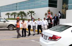 Trabajando en materia de prevención se  efectúa con éxito simulacro de evacuación