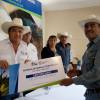Reciben productores del Altiplano más de 29 toneladas de semilla certificada.