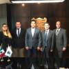 Se reúnen Gobernador y Cónsul General de Estados Unidos en Matamoros.