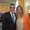 Maki Esther Ortiz Domínguez, asistió hoy al Primer Informe de Gobierno de Enrique Rivas