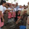 Siembra de más de 10 mil arbolitos  en la Capital … OAS