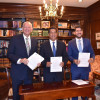 Firma Gobernador acuerdo de intercambio académico con la Universidad Bautista de Houston