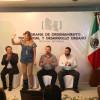 Presiden alcaldes de Reynosa y Río Bravo reunión del Programa de Ordenamiento Territorial y Desarrollo Urbano