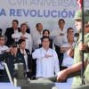 Conmemora Gobernador Aniversario de la Revolución Mexicana en Mante.