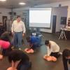 Unidad Deportiva del IPSSET capacita a su personal en RCP y en Primero Auxilios