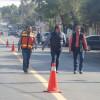 Realizan trabajos de pintura vial tras rehabilitación de pavimentos