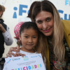 Conviven 115 niños en su cumpleaños con Maki Ortiz