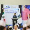 Reconoce Gobernador profesionalismo y calidad humana de enfermeras y enfermeros.