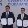 Gobierno de Tamaulipas firma acuerdo inédito con Observatorio Nacional Ciudadano para la evaluación de policías.