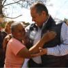 Cierra Oscar Almaraz fin de semana de trabajo y obras en zona rural