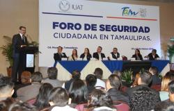 Realiza UAT en Reynosa Foro de Seguridad Ciudadana