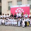 Conmemoran alumnos del CAIC Día de la Bandera