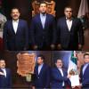 Nombramiento y toma de  protesta al Contralmirante de la Secretaría de Marina, Augusto Cruz Morales, como Secretario de Seguridad Pública de la entidad.