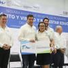 Lleva Gobernador becas y beneficios de programas sociales a Matamoros