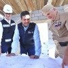 El gobernador del estado, Francisco García Cabeza de Vaca realizó un recorrido de supervisión de obra de dos Estaciones Navales