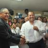 Se registra Óscar Almaraz; va por la reelección