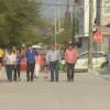 Esta tarde se abrieron a la circulación 7 calles más pavimentadas con concreto, en las colonias Niños Heroes Chapultepec