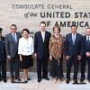 Destaca Gobernador relación histórica de amistad, negocios y colaboración entre Estados Unidos y México.