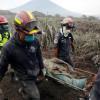 Sube a 65 el número de muertos por erupción del Volcán de Fuego en Guatemala