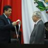 """Entrega  Gobernador presea """"Luis García de Arellano"""" al farmacólogo e investigador Enrique Hong Chong"""